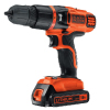 Taladro percutor Black & Decker EGBL188K-GB